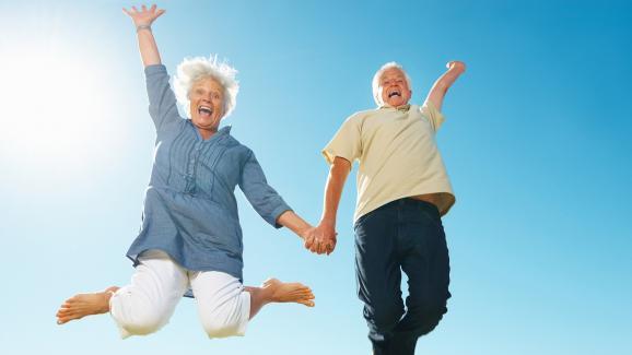 senior joie de vivre
